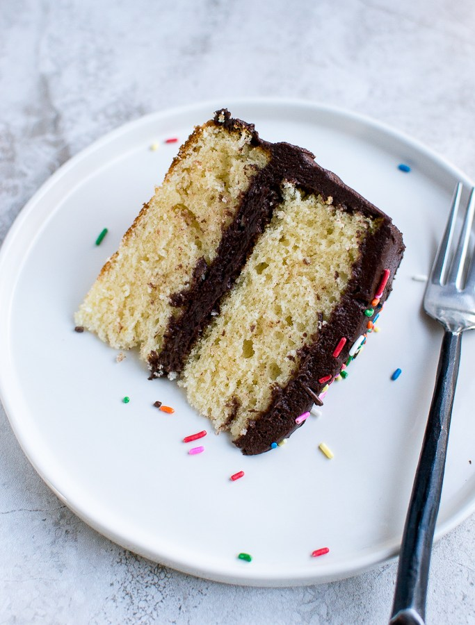 Picture of yellow cake recipe