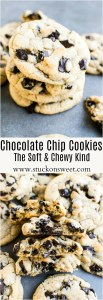Chocolate Chip Chunk Cookies (The Soft & Chewy Kind) These cookies do not need to be chilled and have the perfect chewy texture that I love!