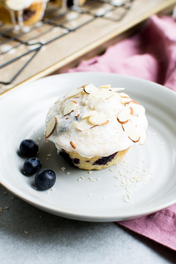 Blueberry Donut Muffins