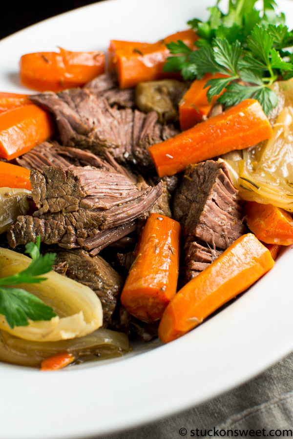 Can't go wrong with a recipe for pot roast. It's a great meal!