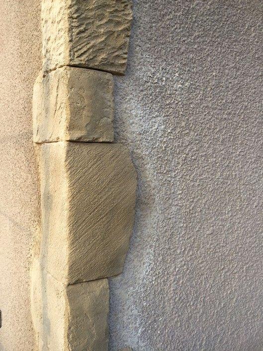encadrement aspect pierre
