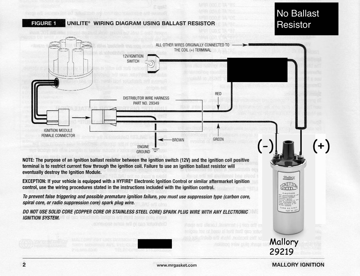 Mallory Ignition Hyfire Wiring Diagram - Schematic Liry on