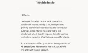 Chasing high interest rates
