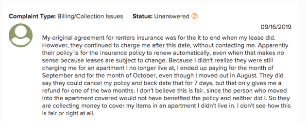 First American Renters Insurance Review