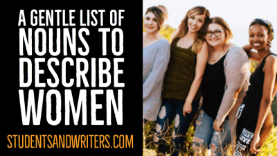 Read more about the article A gentle list of nouns to describe women – female gender specific terms