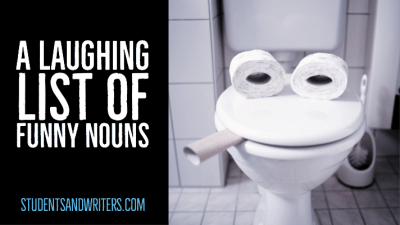 A laughing list of funny nouns