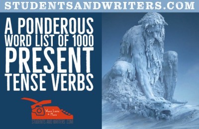 Read more about the article A ponderous word list of 1000 present tense verbs