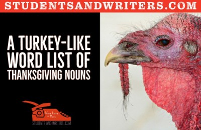 Read more about the article A turkey-like word list of Thanksgiving nouns