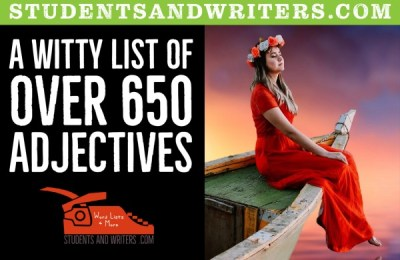 Read more about the article A witty list of over 650 adjectives