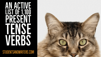 Read more about the article An active list of 1,100 present tense verbs