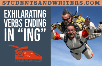 """Read more about the article Exhilarating Verbs Ending in """"ing"""""""
