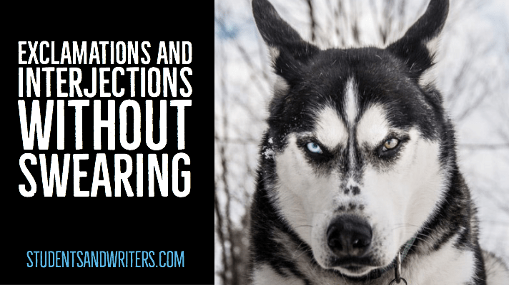 Exclamations and Interjections without Swearing