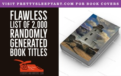 Read more about the article Flawless List of 2,000 Randomly Generated Book Titles With Free PDF Download