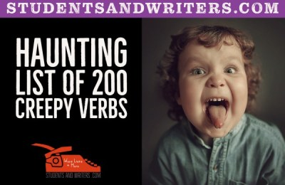 Read more about the article Haunting List of 200 Creepy Verbs