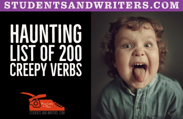 You are currently viewing Haunting List of 200 Creepy Verbs