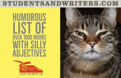 Read more about the article Humorous list of over 1000 nouns with silly adjectives