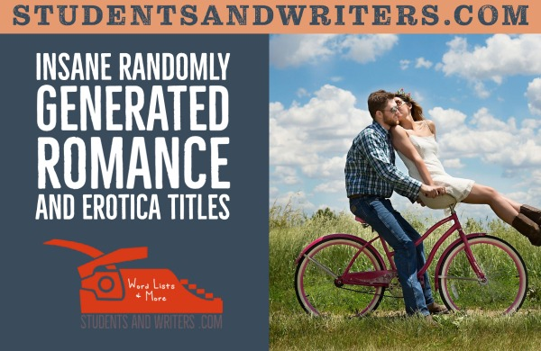 List of Nouns for Romance Novel Titles