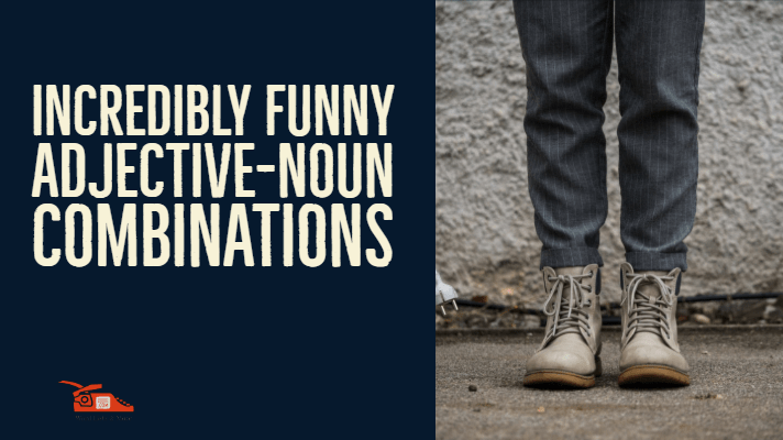 You are currently viewing Incredibly funny adjective-noun combinations