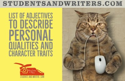 Read more about the article List of adjectives to describe personal qualities and character traits