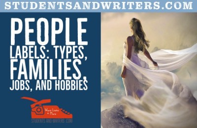 Read more about the article List of People labels: types, families, jobs, and hobbies