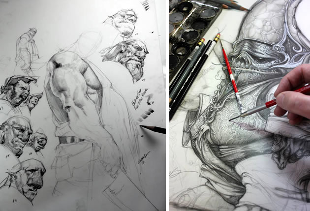 Image result for character drawings examples
