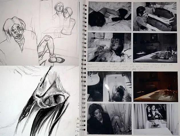 composition development A Level Art