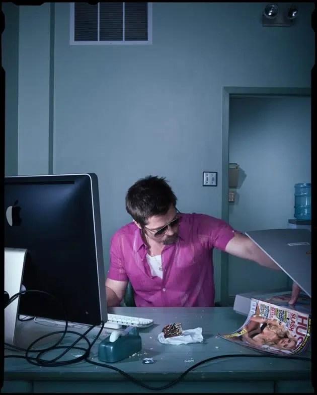 Dan Winters photography of Brad Pitt