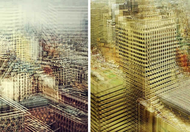 experimental digital manipulation photography by Stephanie Jung