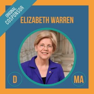 Senator Elizabeth Warren, Cosponsor of the Student Borrower Bankruptcy Relief Act