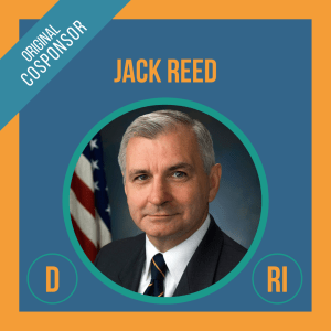 Senator Jack Reed, Cosponsor of the Student Borrower Bankruptcy Relief Act