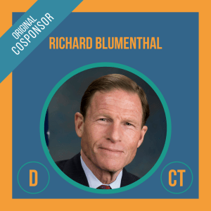 Senator Richard Blumenthal, Cosponsor of the Student Borrower Bankruptcy Relief Act