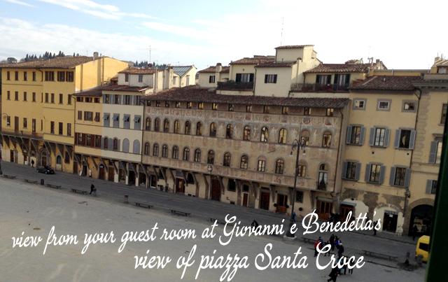 italian-language-homestay-florence-piazza-santa-croce-benedetta-giovanni