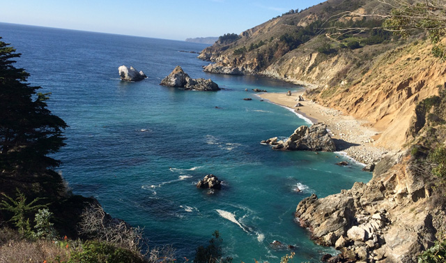 Baia di Monterey Down by the bay in Monterey visiting the