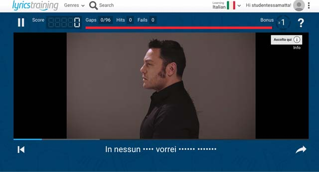 lyrics-training-app-learn-italian-music-videos