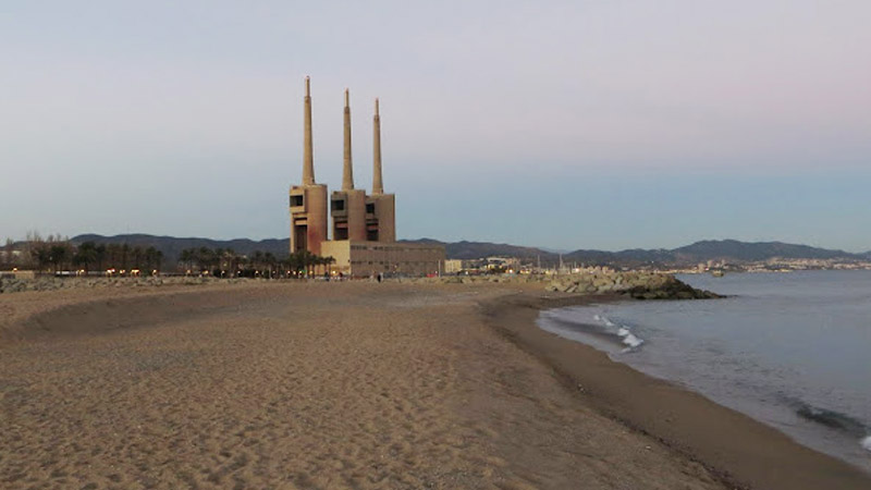 Besos: One of the best beaches near Barcelona