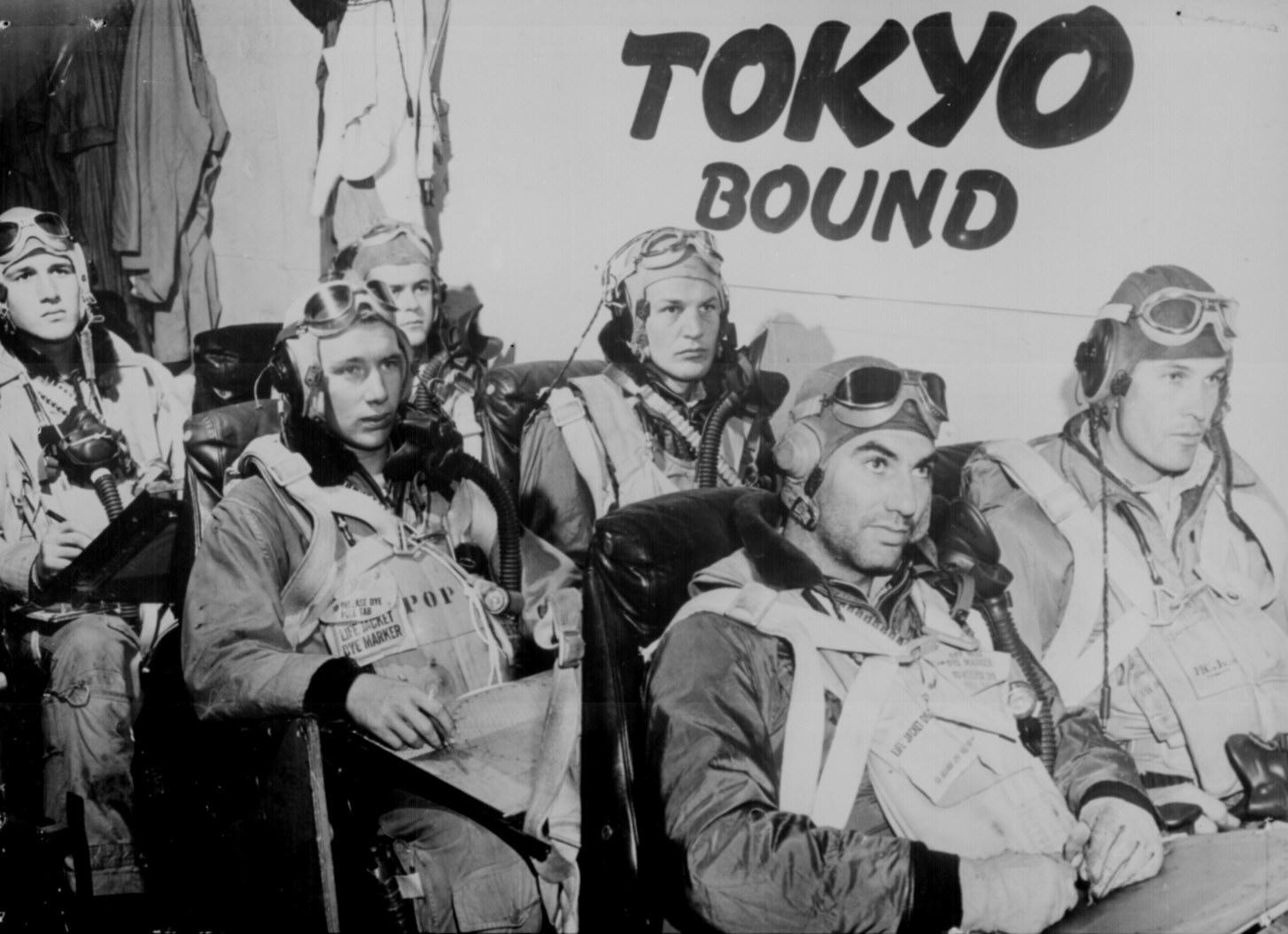 Tokyo Bound Fighter Pilots In Wwii