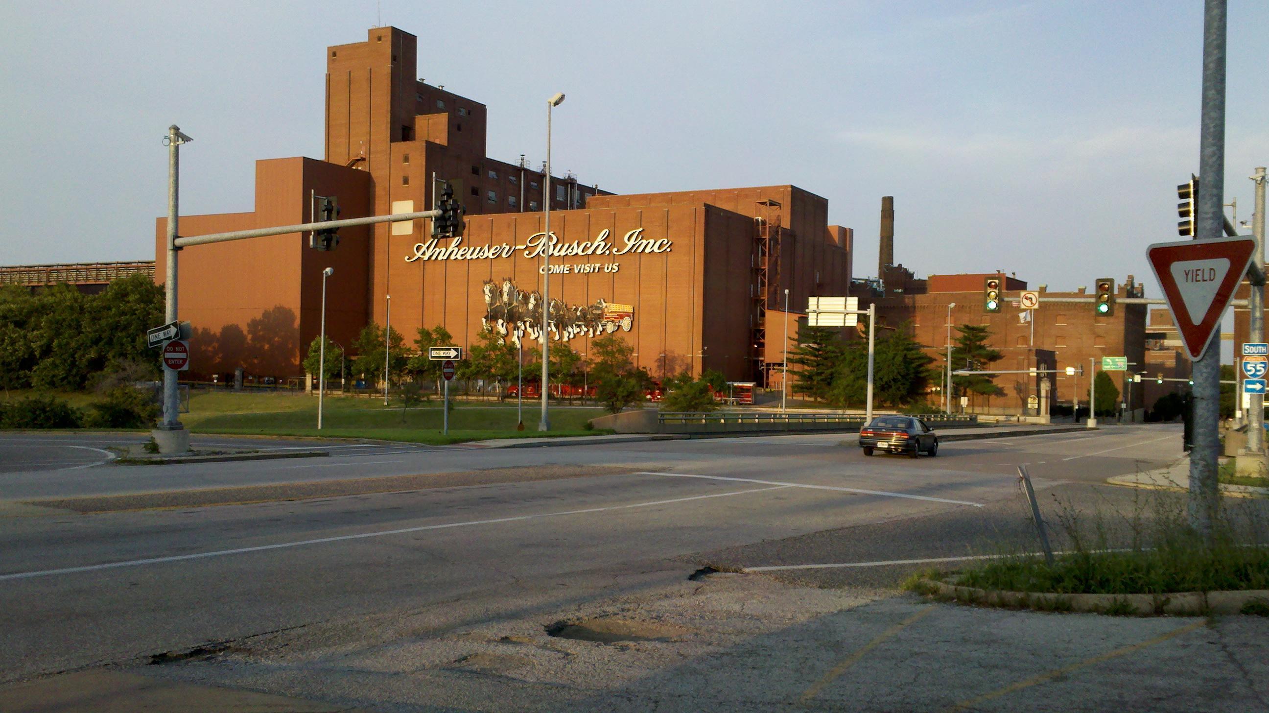 Anheuser Busch Brewery In Saint Louis