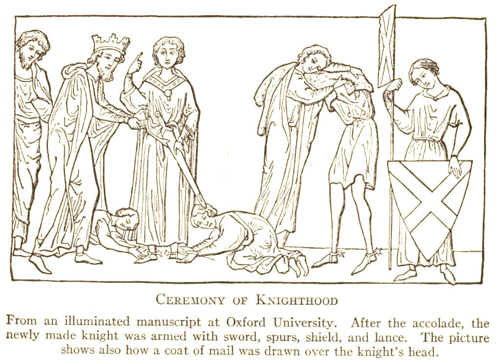 Medieval Knighthood Ceremony Student Handouts