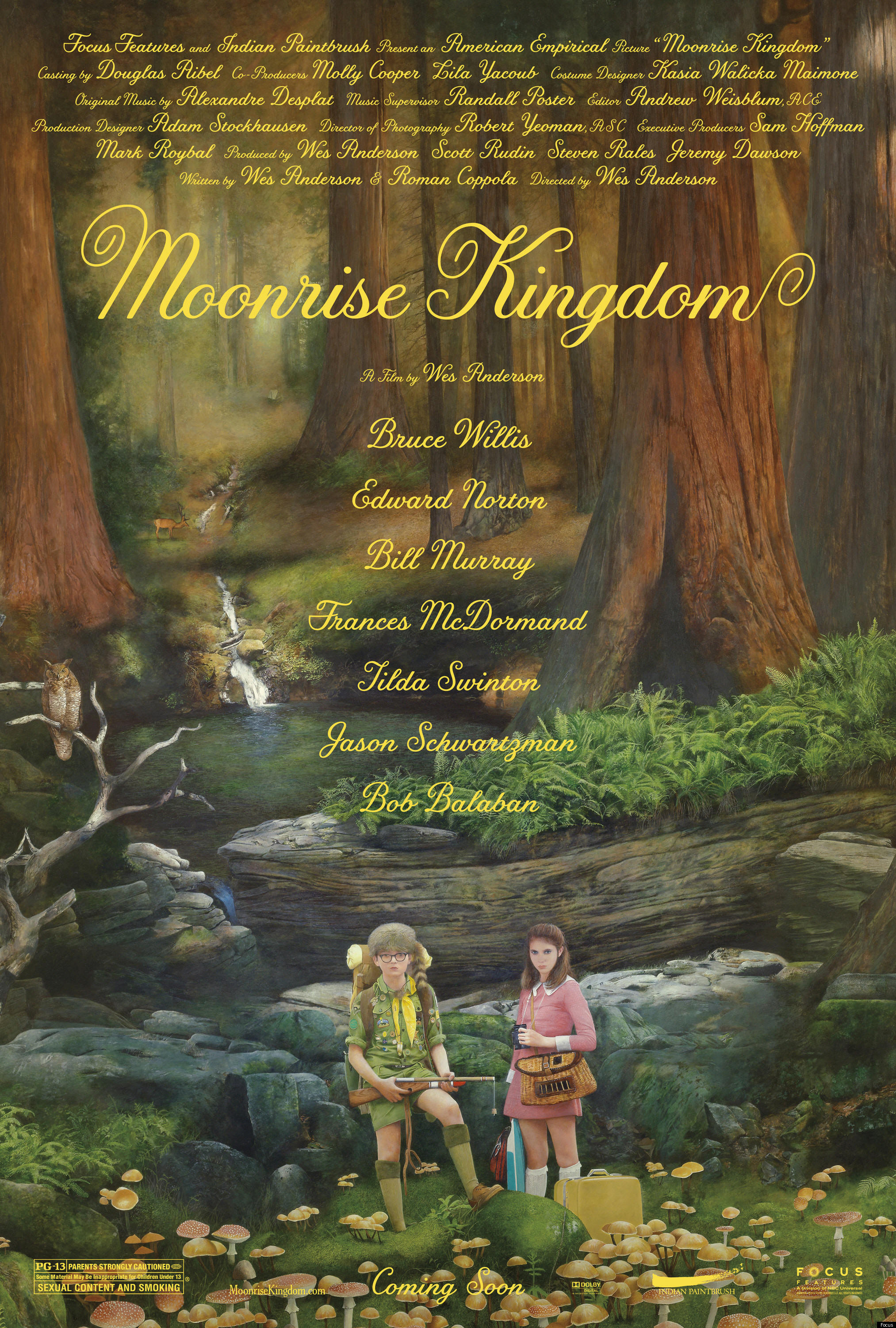 Moonrise Kingdom Movie Review For Parents And