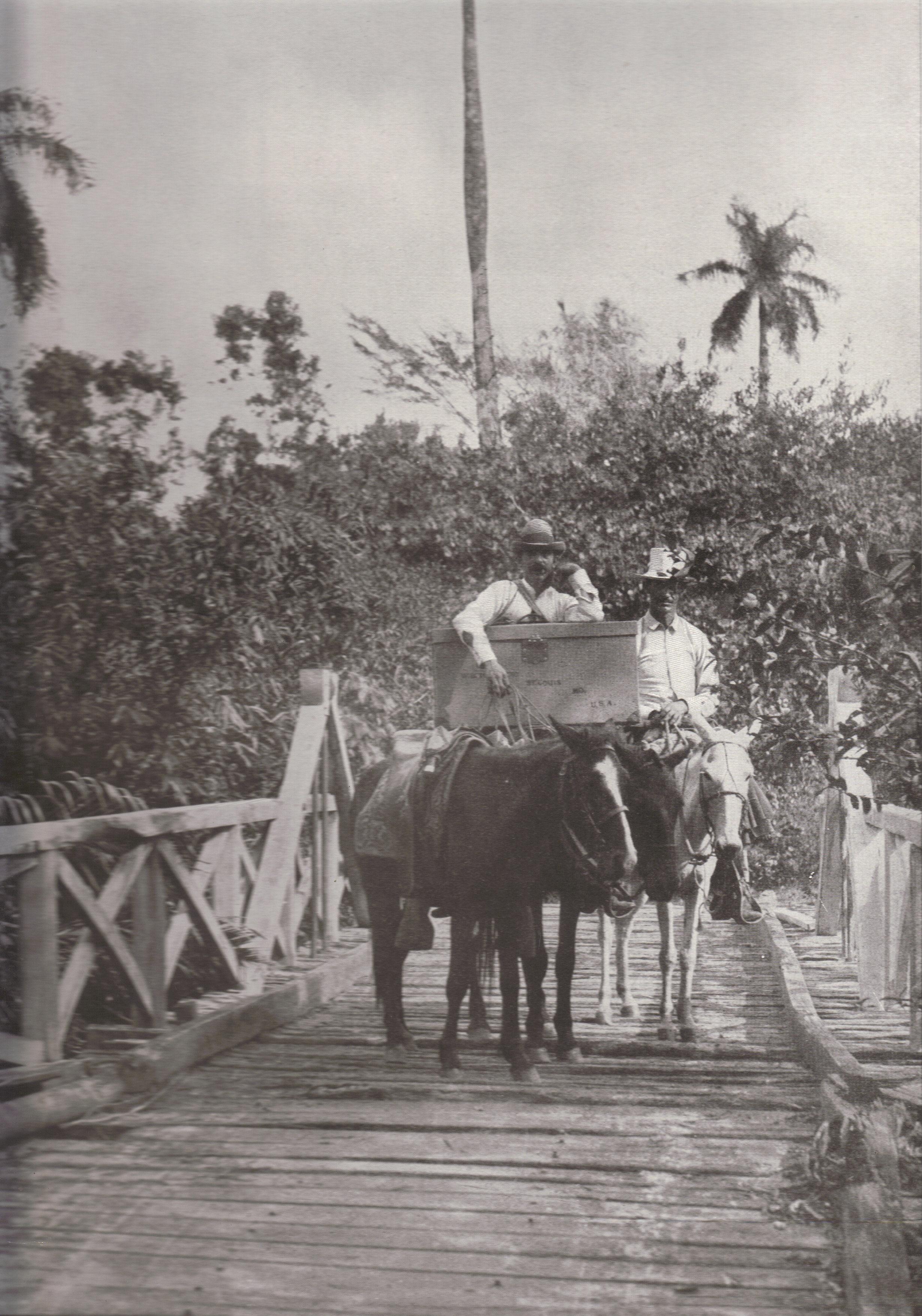 Bridge Across The Santa Fe River Cuba
