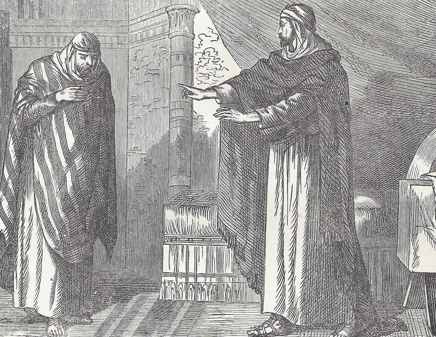 Jacob S Meeting With Isaac In Canaan