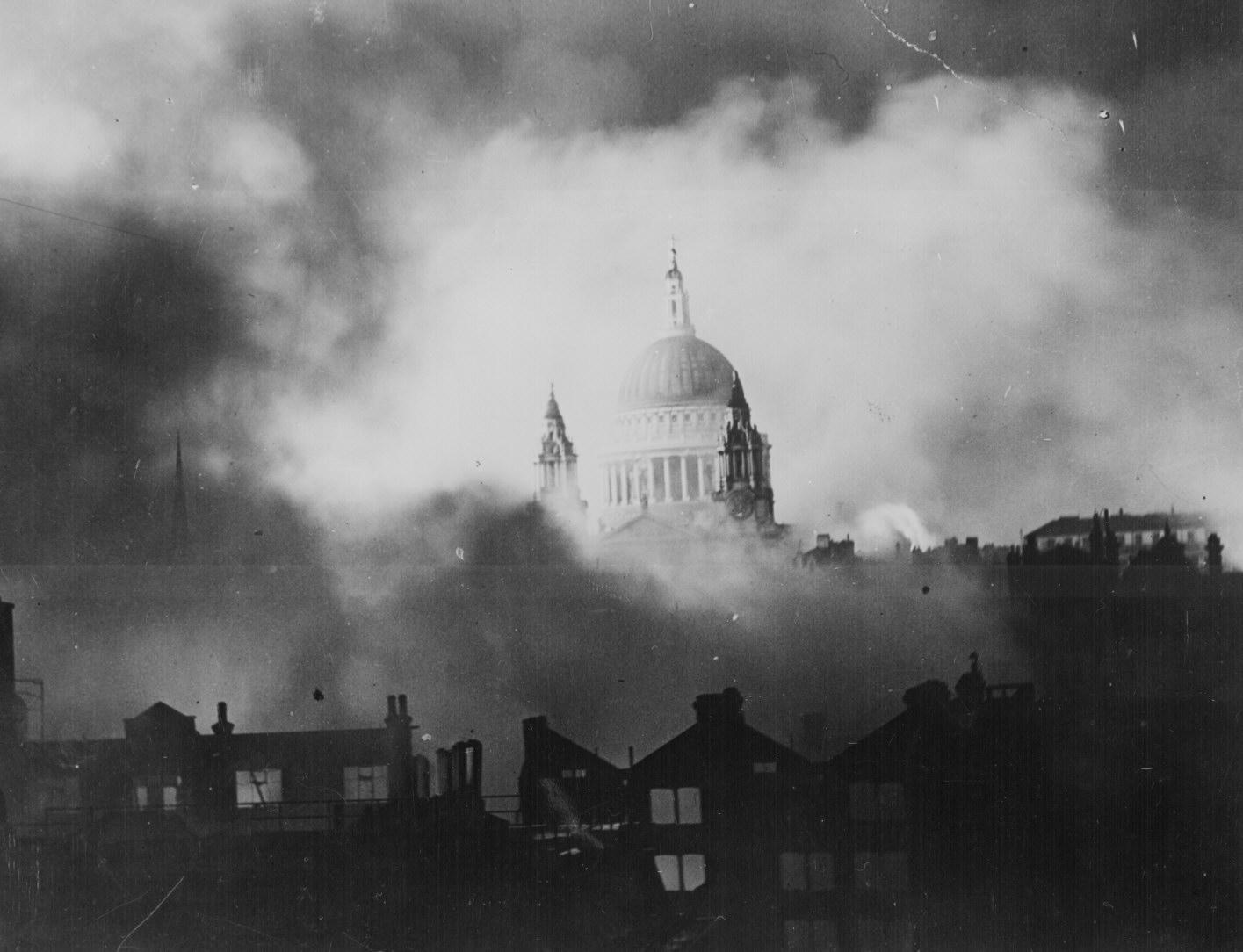 Blitzkrieg Great Fire Raid On London