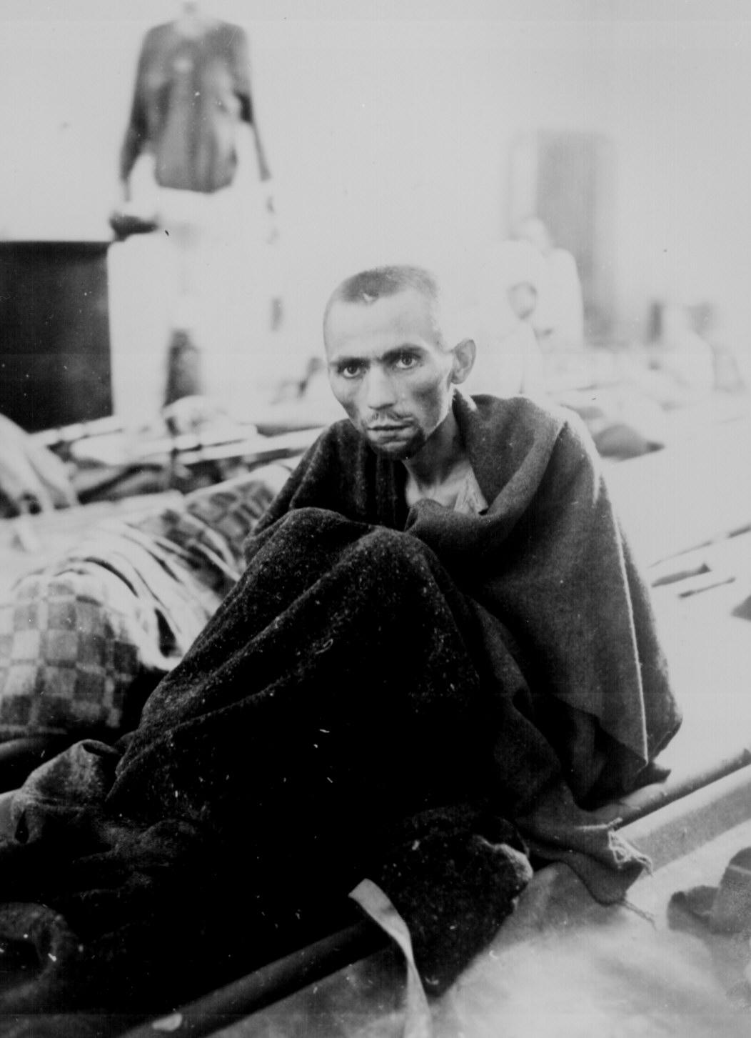Inmate At Camp Gusen