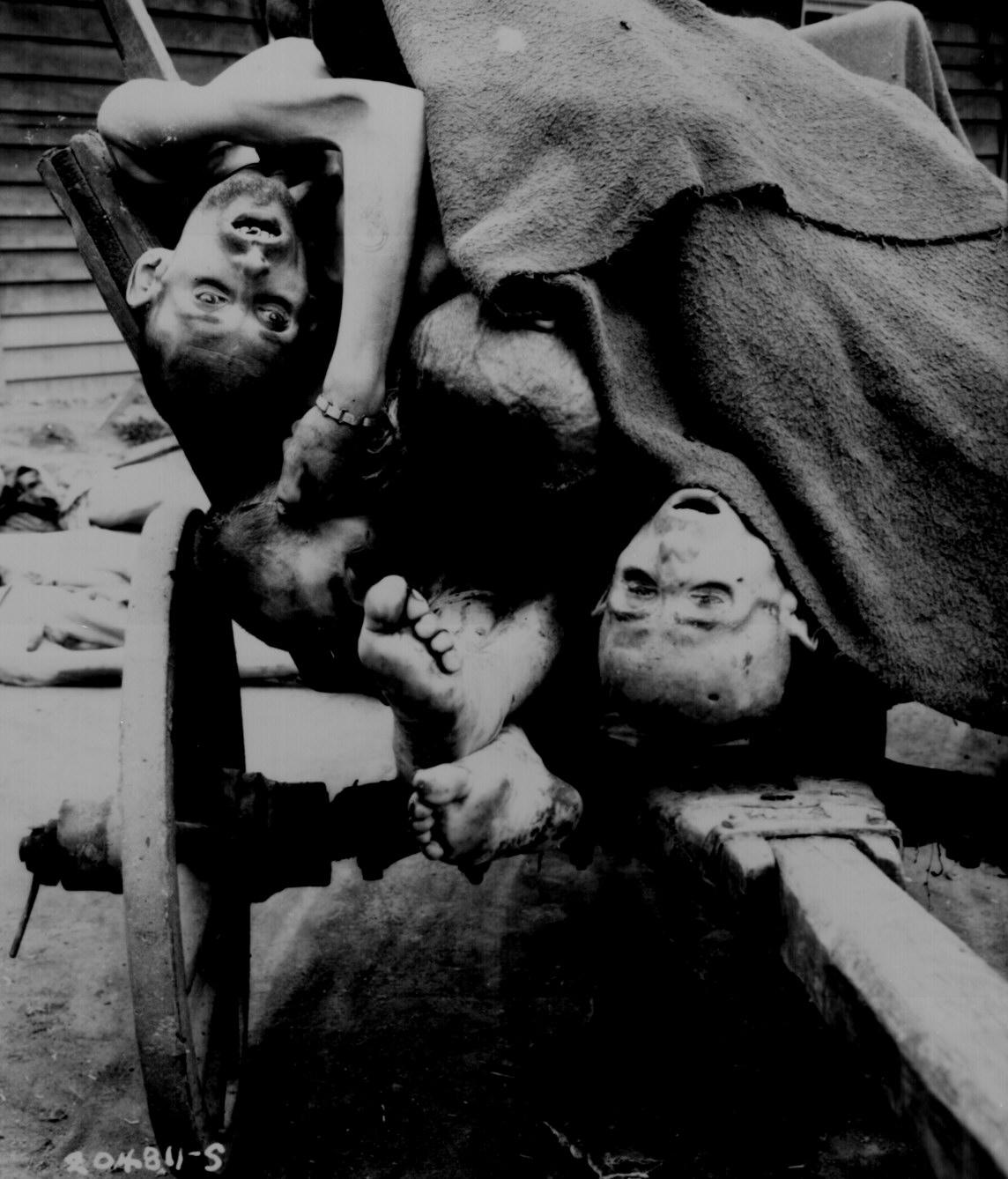 Corpses At Gusen Concentration Camp