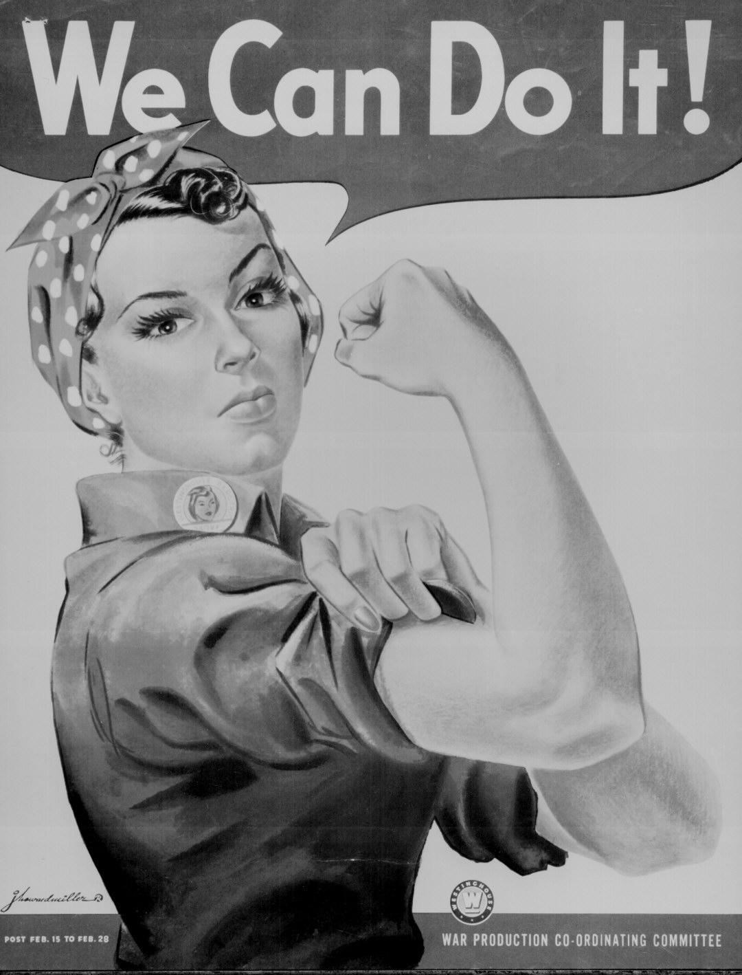 Rosie The Riveter World War Ii Poster