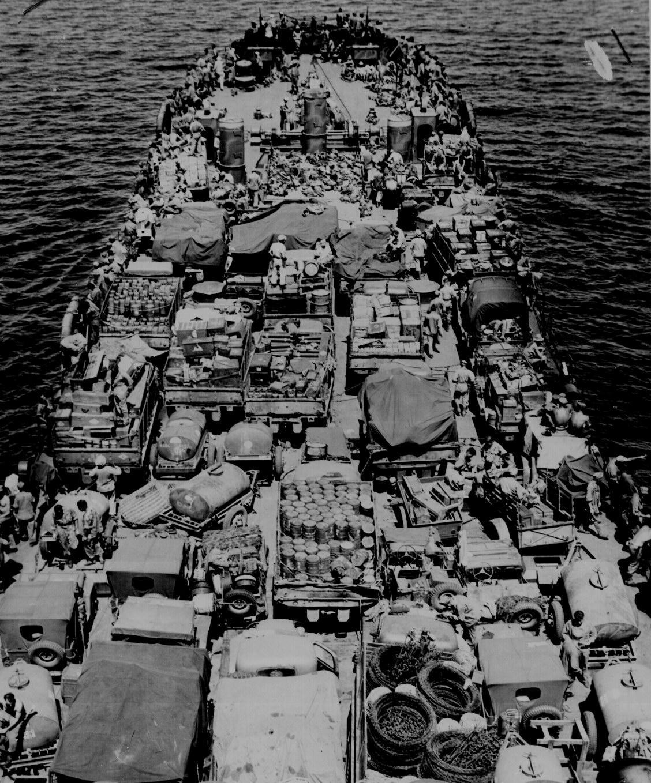 U S Marines Invading New Britain