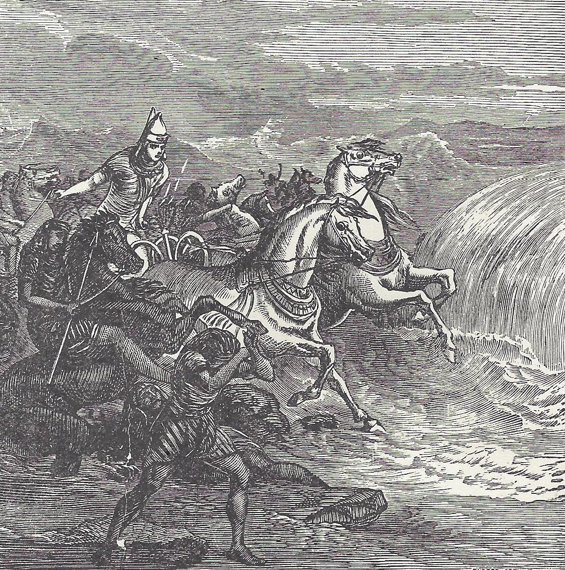 Destruction Of Pharaoh S Army At The Red Sea