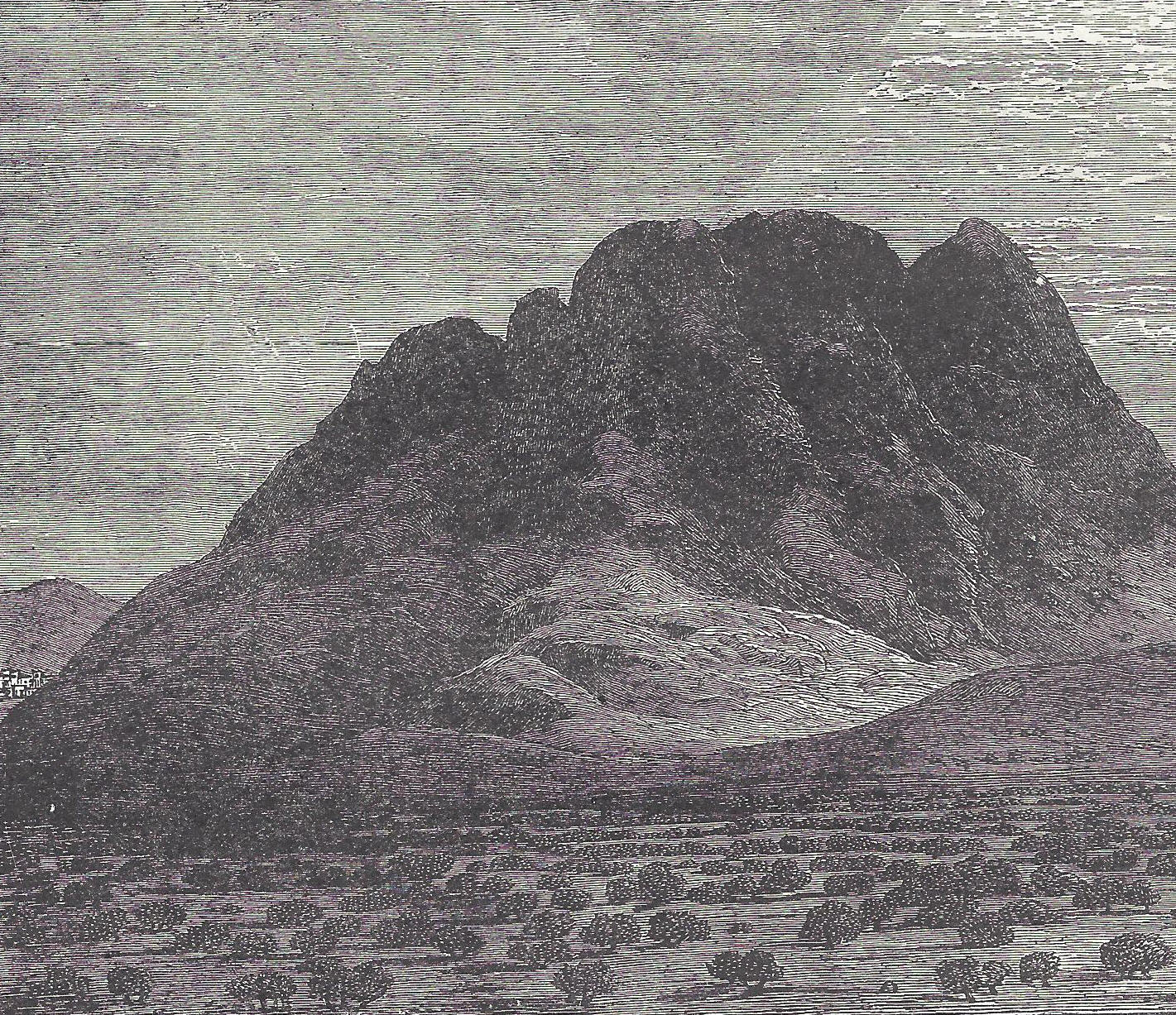 Mount Sinai From The Plain Of Er Rahah