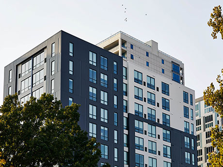 Opus Completes 14 Story Student Housing