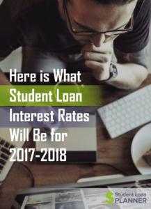 student loan interest rates 2017-2018